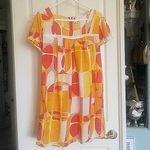 Cute Funky 70's style Roxy Sun Dress!